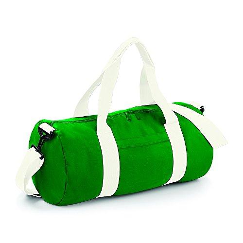 Bagbase Bag White Kelly Green Verde Barrel Original Off Sw7rS
