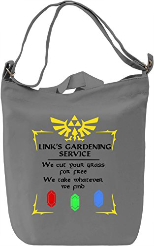 Link's Gardening Service Borsa Giornaliera Canvas Canvas Day Bag| 100% Premium Cotton Canvas| DTG Printing|