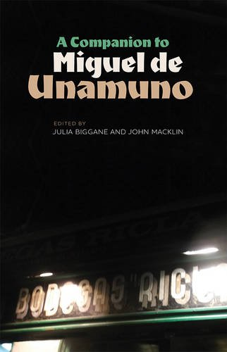Download A Companion to Miguel de Unamuno (Monografías A) ebook