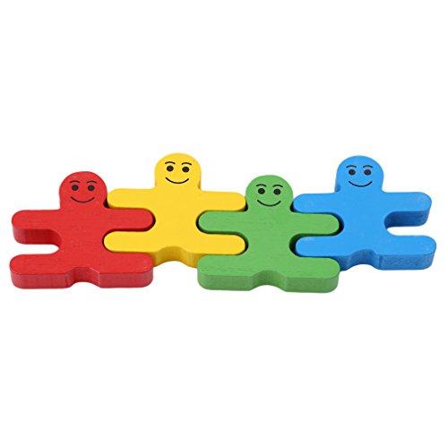 Honel バランスパズル パズル おもちゃ 人型 知的玩具 立体パズル