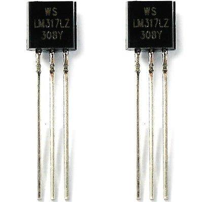 QX Electronics 20PCS LM317LZ LM317L LM317 0.1A Voltage Regulators IC New Good Quality