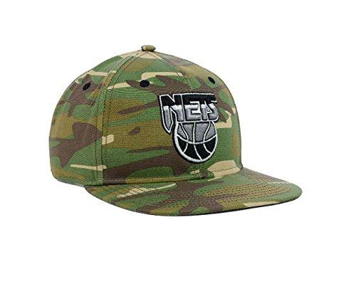 Brooklyn Netsスナップバック調節可能なOneサイズFits All NBA Authentic Camoスナップバック帽子キャップ – OSFA迷彩   B01IW1PF6M