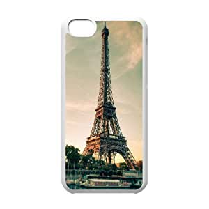 Yearinspace Eiffel Tour iPhone 5C Cases, Girls Iphone 5c Cases For Girls {White} hjbrhga1544
