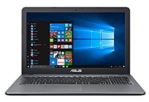 "ASUS D540SA-XX620T - Ordenador portátil de 15.6""  HD (Intel Celeron N3060, 4 GB de RAM, HDD de 500 GB, Intel HD Graphics 400, Windows 10 Original), plata gradiente - Teclado QWERTY Español"