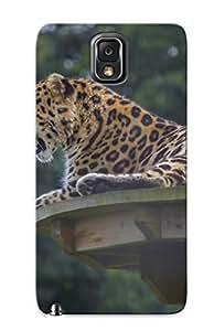 Exultantor Galaxy Note 3 Hybrid Tpu Case Cover Silicon Bumper Animal Leopard