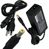AC Power Adapter/Battery Charger for HP Pavilion DV1400 dv2037US dv2040US dv2400 dv2610us dv2615nr dv2910us dv6000z dv6265us dv6647nr dv6700z ze2300 ze2308ea ze2309ea zt3300