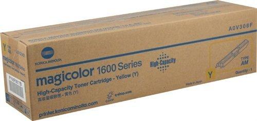 6F OEM Toner - magicolor 1600 1650 1680 1690 Series Yellow High Capacity Toner (2500 Yield) OEM (High Capacity Electronic)