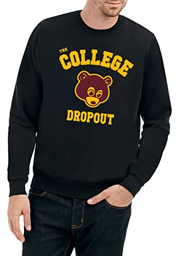 College Dropout Sweater Black Certified Freak