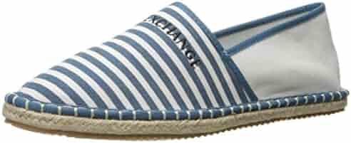 A X Armani Exchange Men's Logo Espadrille Boat Shoe