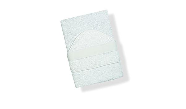 Toalla INTERBABY, Bañera bordado de punto de cruz, blanco (weiss): Amazon.es: Bebé