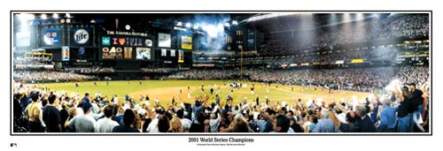 01 World Series Champs Diamondbacks Panoramic Photo