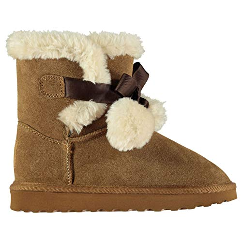 - SoulCal Girls Carmel Snug Boots Infant Slip On Shoes Casual Chestnut C8.5 US