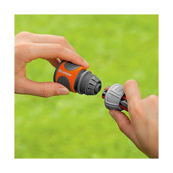 41M0heXNVbL Gardena Comfort FLEX Schlauch 13 mm (1/2 Zoll), 10 m: Formstabiler, flexibler Gartenschlauch mit Power-Grip-Profil, aus…