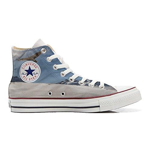 Converse Hi Star Schuhe All Schuhe Handwerk Adler Customized personalisierte q7UZ7