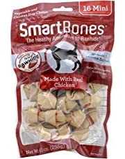 SmartBones Chicken Dog Chew, Mini, 16 Pieces/Pack