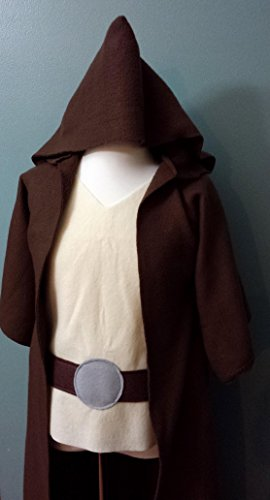 Star Wars Jedi Robe Costume Set (Luke Skywalker / Obi Wan Kenobi / Jedi Knight / Jedi Master) - Baby / Toddler / Kids / Teen / Adult Sizes]()