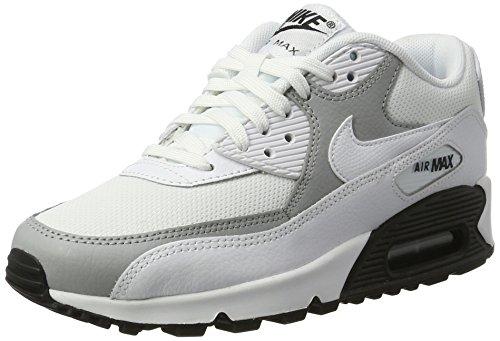 Max Wmns Blanco white wolf Para Nike Zapatillas Grey 90 white Air Mujer black SwyEda