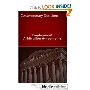 Employment Arbitration Agreements (Employment Law Series) LandMark Publications