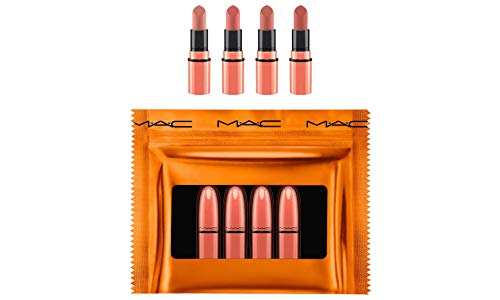 (M.A.C. Shiny Pretty Things Party Favors Mini Lipstick Gift Set NUDES)