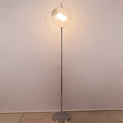 Lámpara de pie moderna Sencilla burbuja de jabón Lámpara de ...