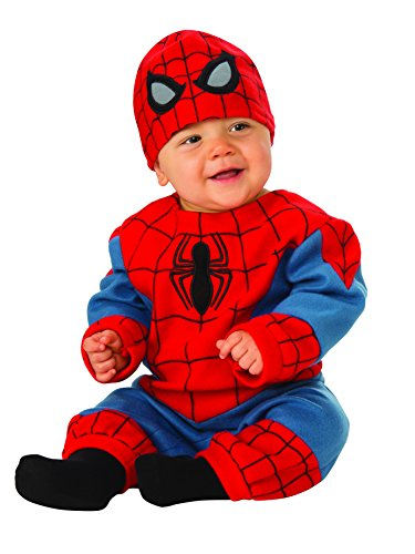 Rubie's Baby's Marvel Spider-Man Romper, Infant (6-12 -