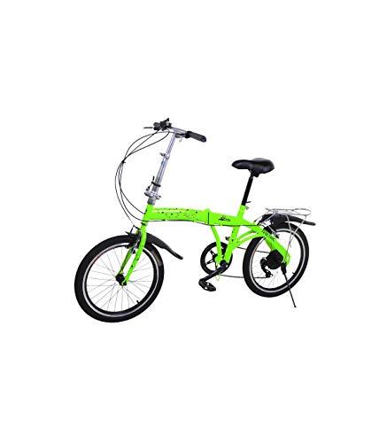 🥇 Riscko Metric Bicicleta Plegable Unisex con Ruedas de 20′