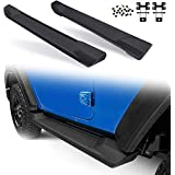 Bosmutus Side Step for Jeep WRangler JL, OE Style Rocker Clawer Off Road Running Boards Nerf Bars for 2018-2020 Jeep Wrangler JL 2 Door ABS Side Step Rail Bars