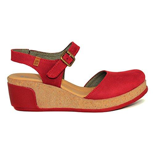 El Naturalista - Sandalias de vestir para mujer Rojo