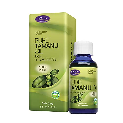 Life-flo Pure Organic Tamanu Oil | Skin Rejuvenator and Soothing Treatment for Skin, Scalp, Scars and Stretch Marks, 1oz