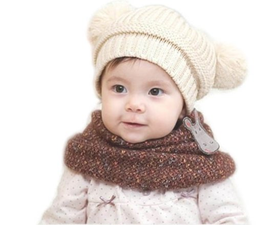 Leegoal Korean Babies Knitting Beanie