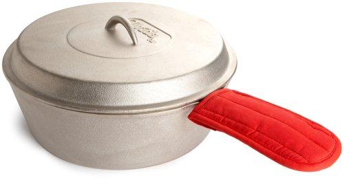 Olvida 5.8 Quart Nickel Plated Cast Iron Pot and Lid