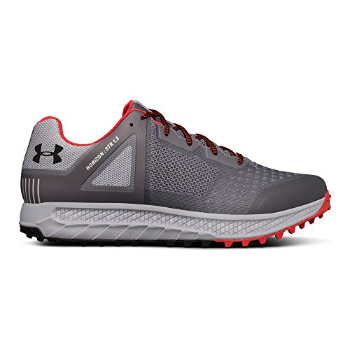 Under Armour Men's Horizon STR 1.5 Running Shoe, Zinc (101)/Overcast Gray, 10.5