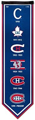 NHL Montreal Canadiens Legacy Banner, 8 x 30-inches