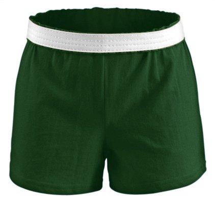 - Soffe Juniors Athletic Shorts The Original Short, Dark Green, Medium
