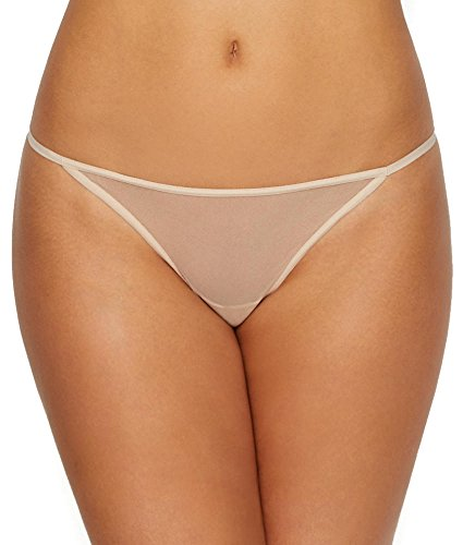 - Cosabella Women's Soire New Lowrider Italian Thong, Luxe Sand, One Size Fits All