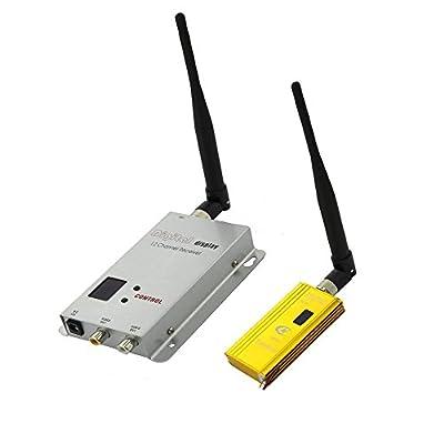 Camecho Wireless Video Audio AV Transmitter Receiver