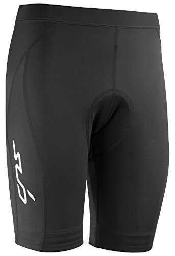 Sub Sports Womens Padded Cycling Shorts Cushioned Pad Bottom Bicycle MTB -XL (Womens Triathlon Bike)