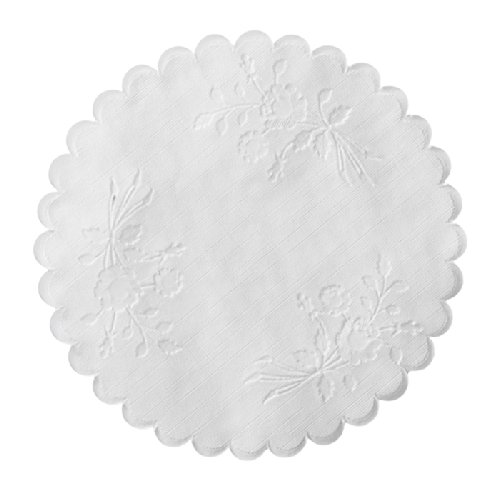 Rose Linen 8'' Round Doily 5,000 ct