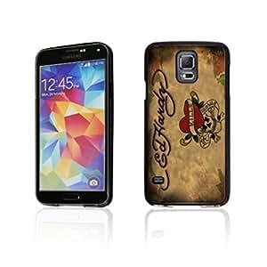Ed Hardy image Custom Samsung Galaxy S5 i9600 Individualized Hard Case