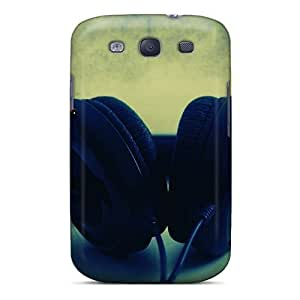 Cute Tpu TianMao Music To Ears Case Cover For Galaxy S3
