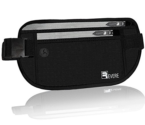 Travel Money Belt RFID Fanny Pack Waist Pouch Wallet Stash Hidden Passport Holder