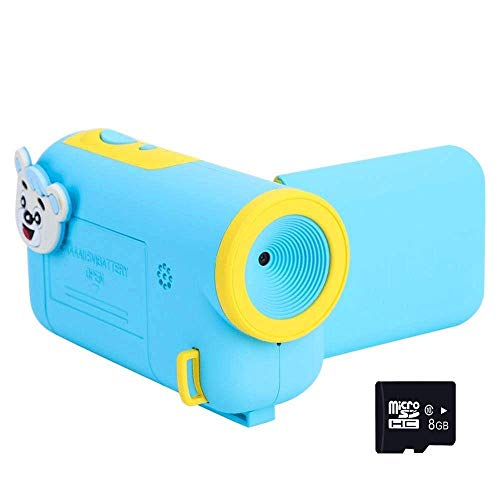 Camera for Kids,720P Video Recorder Sport Action Camera Camcorder with 16MP HD Photo Resolution Kid Camera for Children Boys Girls Gift Camera Toys with Mini 1.77 Inch Screen (Blue Kids Camera)