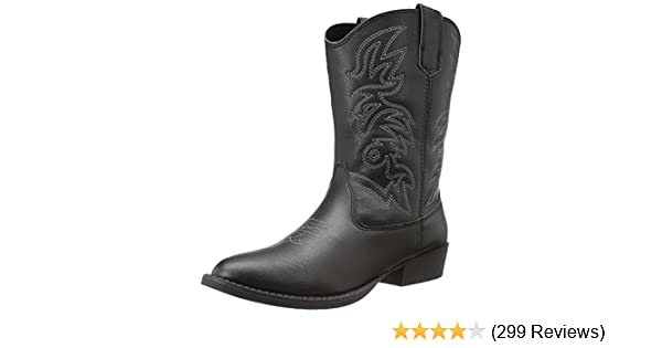 37b63d4dc80 Deer Stags Ranch Unisex Pull On Western Cowboy Fashion Comfort Boot (Little  Kid/Big Kid)