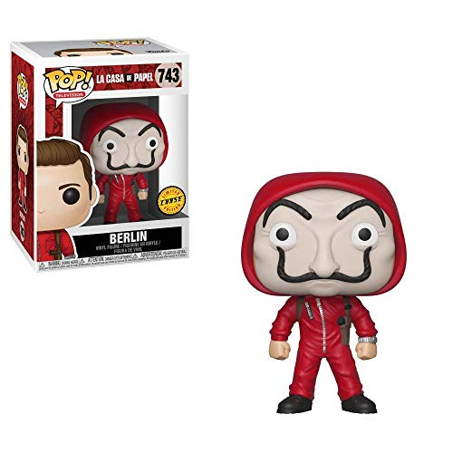 Funko POP La Casa de Papel BERLIN with Mask Ch