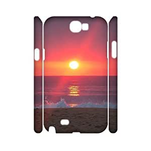 Sunrise 3D-Printed ZLB547007 Customized 3D Phone Samsung Galaxy Note2 N7100/N7102