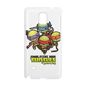 Ninja Turtles 001 Samsung Galaxy Note 4 Cell Phone Case White TPU Phone Case RV_699969