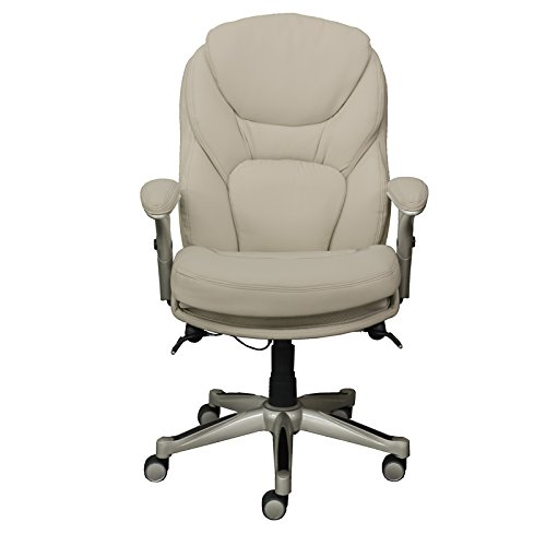 Serta Works Executive Office Chair with Back in Motion Technology, Inspired Ivory image