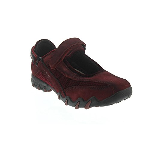 Red Mephisto H suede Dk C Chaussures Winter Allrounder 01 Running by Rouge Red Dk soft de Compétition 67 NIRO Femme O5pTqpwC