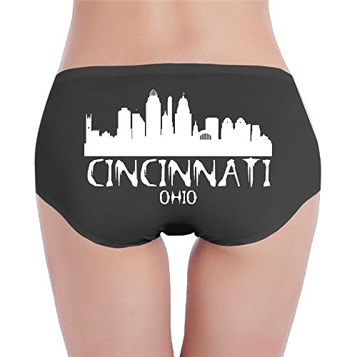 (Cincinnati City Skyline Silhouette Fashion Design Ladies)