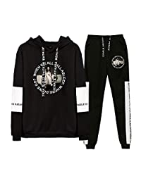 SERAPHY Unisex Billie Eilish Tops and Pants Fashion Casual Sport Sweater Clothing Sets